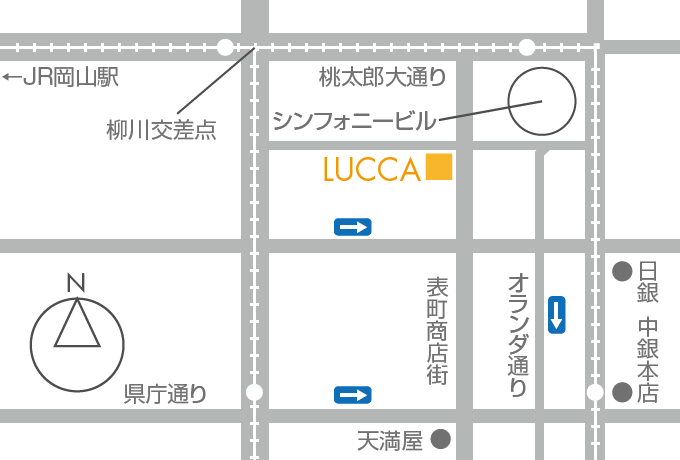 LUCCA MAP